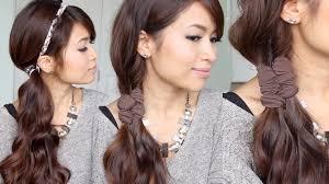 Headband Hair Style easy faux braid headband hairstyles for medium long hair tutorial 2585 by wearticles.com