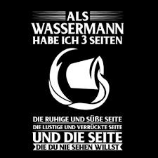 Sternzeichen Wassermann Männer T Shirt Spreadshirt
