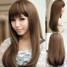 Floral House Girls Real New Japanese Hairstyle Fringe Fatao Fluffy