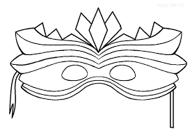 Mask Coloring Pages Mask Coloring Pages Perfect Mask Coloring Pages