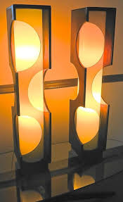 Space Age Furniture 746 Best Light Images On Pinterest Modern Table Lamps Glass