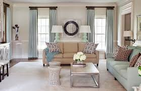 ... astonishing creative ideas window treatments living room charming  design q amp of blue on living room