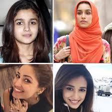 bollywood actress look surprisingly beautiful without makeup bollywood actress look surprisingly beautiful without makeup