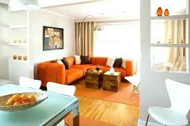 Burnt Orange And Brown Living Room Property New Design Inspiration