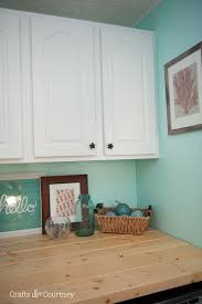 Simple Laundry Room Makeovers Laundry Room Cabinet Makeover