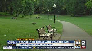 search for teens who stabbed a man inside wyman park search for teens who stabbed a man inside wyman park