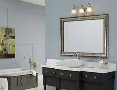 silver framed bathroom mirrors. A MirrorMate Frame In Grandezza Aged Silver Was Added Directly To This Plate Glass Bathroom Mirror Framed Mirrors D
