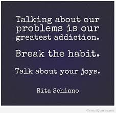 Quotes About Addiction Awesome Problem Addiction Quote