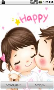 images for pc cute cartoon couple for mobile wallpapers and images