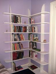 Corner Bookcase Plans Stylish And Easy To Make Corner Bookshelf 5 Steps With Pictures
