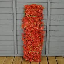 selections green japanese maple artificial garden trellis 1 8m x 0 6m