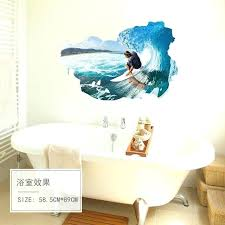 surfing wall decals surfing wall stickers for bedroom living room beach wall stickers home decor waterproof