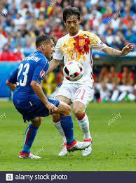 Football Soccer - Italy v Spain - EURO ...