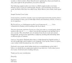 Sunday School Teacher Resume Sample Lecturer Resume Cover Letter