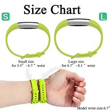 Fitbit Alta Hr Size Chart For Fitbit Alta Hr And Alta Bands 12 Pack Maledan