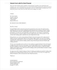 Proposal Letter Template Unique Ideas Collection Sample Grant Proposal Letter 48 Examples In Word How