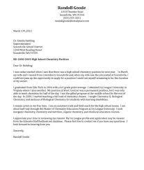 Ideas Of Cover Letter Samples For Secondary Teachers High School