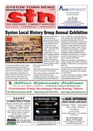 Syston Town News Your Independent Community Newspaper November ...
