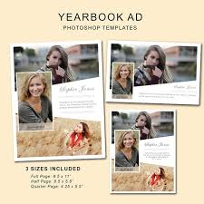 Ad Page Templates Senior Yearbook Ads Photoshop Templates Graduation Ad