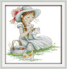 Free Printable Counted Cross Stitch Charts Joy Sunday Cartoon Style The Embroidery Girl Counted Free