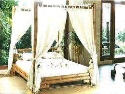 bamboo canopy bed – zullies