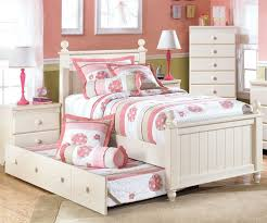 Kids White Bedroom Furniture Twin Bed Frame Fo 7472 | ecobell.info
