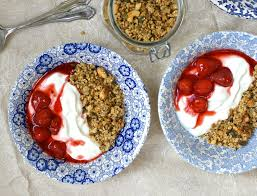Green Kitchen Stories Cookbook Banana Granola And Strawberry Compote The Cashew Tree