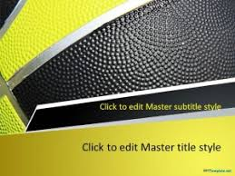Basketball Powerpoint Template Free Free Basketball Play Ppt Template