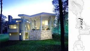 modern guest house. Modern Guest House Design Ideas Wooded Landscape