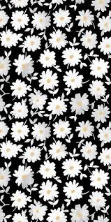 black and white floral wallpaper pattern. Wonderful And Print Pattern Modern Floral Monochrome Design Daisy Illustration With Black And White Floral Wallpaper Pattern A