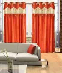 Orange Curtains Living Room Contemporary Orange Curtains Designs Decoration Best Ideas About
