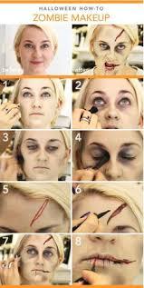 diy zombie makeup tutorial diy fun crafts