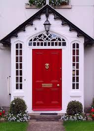 Coral Front Door Delorme Designs Bright Front Doors