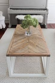 diy square farmhouse coffee table