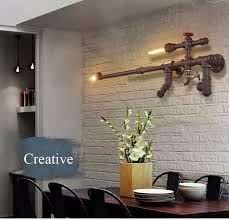industrial home lighting. Best Quality 2016 Loft Industrial Wall Lights For Restaurant/Bar/Aisle/Corridor/Balcony Vintage Water Pipe Lamps Creative Home Dec Lighting At Cheap I