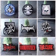 <b>Nicediy</b> Black Red <b>Letter</b> Embroidery <b>Patch</b> Rock <b>Patches For</b> ...