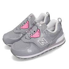 Details About New Balance Iv574zoe W Wide Grey Pink Elephant Td Toddler Infant Shoes Iv574zoew