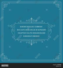 Vintage Ornament Vector Photo Free Trial Bigstock