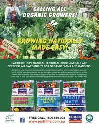 good organic gardening july august 2020