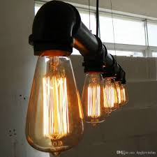 cheap industrial lighting. pendant lights artistic five heads retro industrial waterpipe chandelier e27 lighting living room dining cheap r