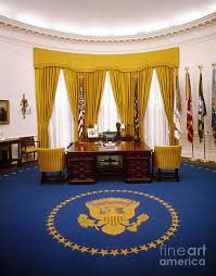 the white house oval office. 1970 Photograph - White House: Oval Office By Granger The House