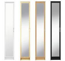 mirror wardrobe. collection cheval single mirrored wardrobe - beech / black oak white. mirror