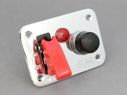 Chrome Ignition & <b>Starter Switch Panel</b> - 3 Hole | <b>12 Volt</b> Planet