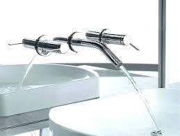 wall mount sink faucet. Wall Mount Sink Faucet Hung Breathtaking Installation .
