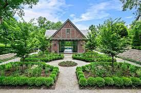 english garden pool house