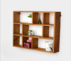 remarkable decoration wall mounted decorative shelves hollow wooden wall shelf storage holders and racks desktop shelves