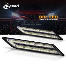 Universal Daytime Running Light Module Nlpearl 2x 33 Smd Daytime Running Lights For Car Led
