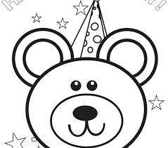 Disney Princess Birthday Coloring Pages Happy At Free Stockware