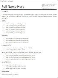 Job Resumes Format Resumes Format For Job Job Resume Format Download