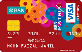 bsn matrix i debit card